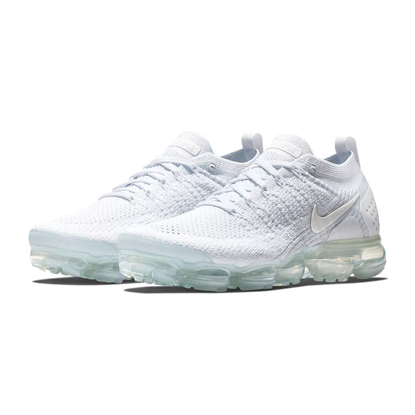NIKE AIR VAPOR MAX KNIT Men's Running Shoes ::White/White :: Limited Availability