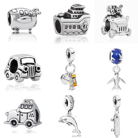 New York - Euro Micky Collection European Pandora Style Beads