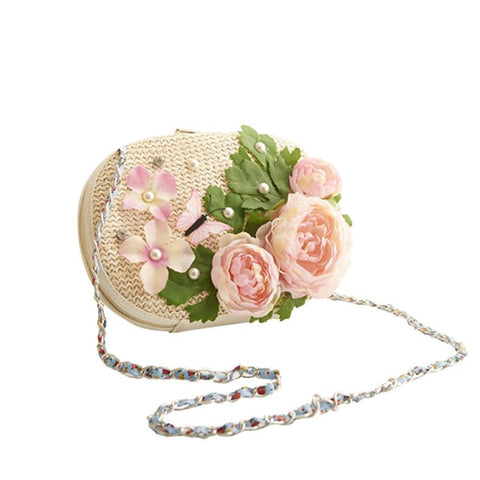 The Peony Handmade Cross Body Handbag :: Available in 4 Colors