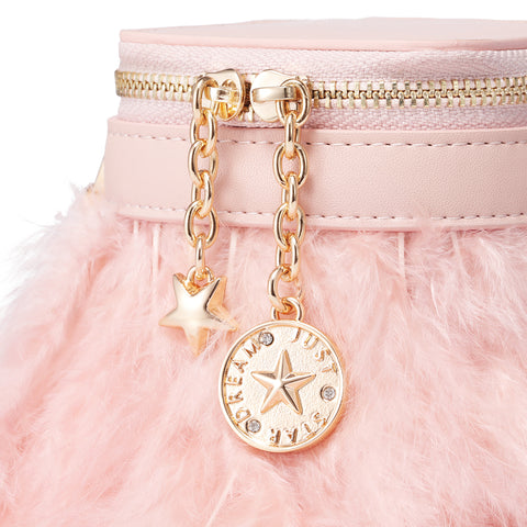 The Mia Feather Dreams Mini Vintage Party Satchel