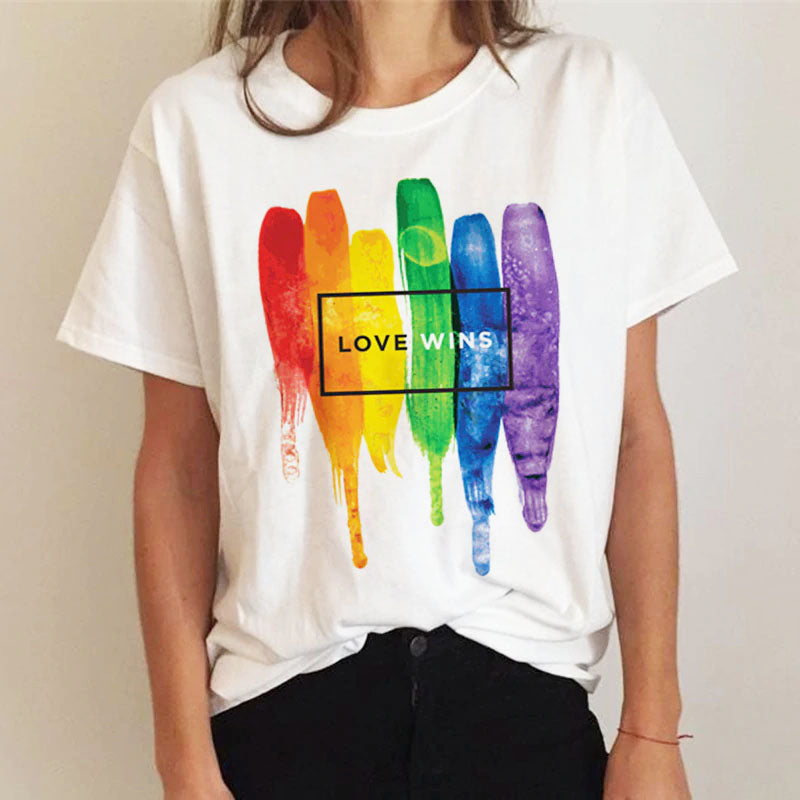 PRIDE Collection :: Love Wins! Cotton T-Shirt