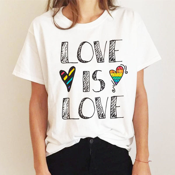 PRIDE Collection :: Love is Love T-Shirt
