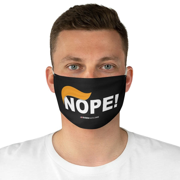 NOPE! No More Trump Fabric Face Mask