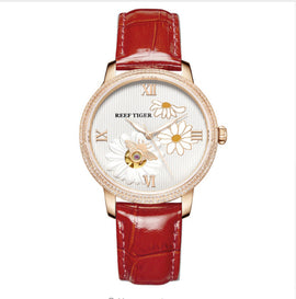 Reef Tiger - Daisy Bee Series - Luxury Ladies Fashion Watch