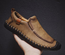 Style 103 Men's Casual Leather Moccasins/Loafers :: Available in 3 Colors
