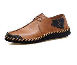Style 104 Two Tone Hand Crafted Split Men's Moccasin/Loafers :: Available in 3 Colors