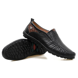 Style 105 Men's Soft Leather Casual Loafers :: Available in 3 Colors