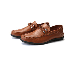 Style 107 Hand Stitched Casual Loafers  :: Available in 3 Colors