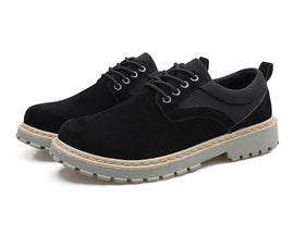 Style 108 Casual Rugged Suede Lace Ups :: Available in 3 Colors