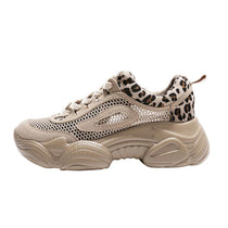 Style 128 Leopard Open Mesh Sports Shoe - BEST SELLER!