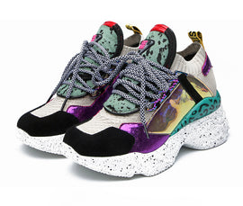 Style 129 Schnazzy Fiesta Sports Sneakers - 2 Colors - BEST SELLER!