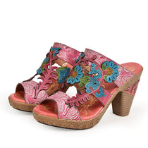 Style 1726 Bohemian Summer Collection - Boho Floral Fantasy Sandals