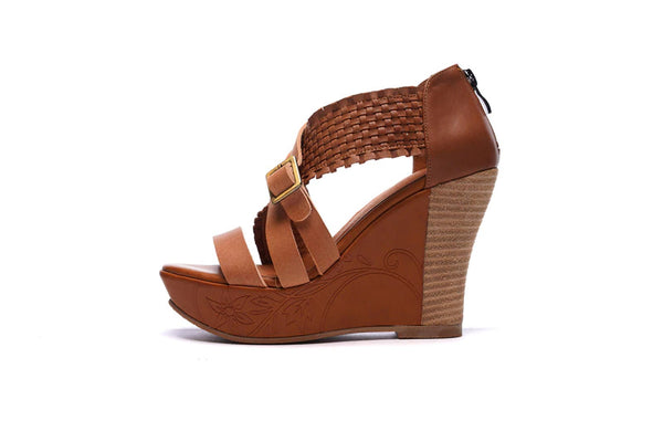 Style 1730 Bohemian Summer Collection - Sexy Strappy Wedge Sandals