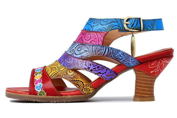 Style 1731 Bohemian Summer Collection - Tiki Party Summer Sandals