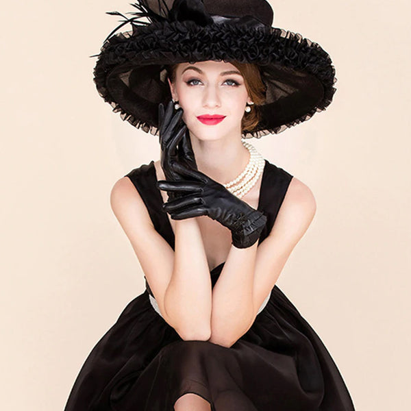 Style 231 Luxury Ruffled Kentucky Derby Hat