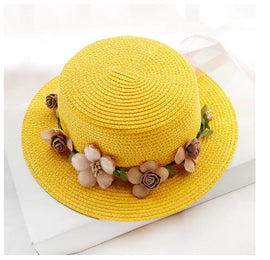 Style 232 Fancy Floral Special Straw Hat
