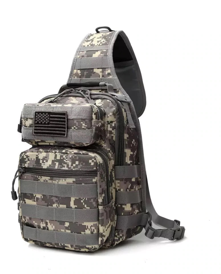Style 234 Military Tactical Style Shoulder Bag   :: Available in 3 Colors