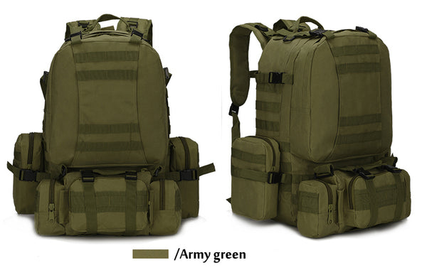 Style 236 Military 4-in-1 Tactical Bag Set   :: Available in 4 Colors