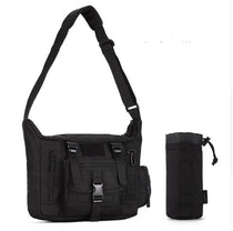 Style 239 Tactical Satchel Messenger Bag with Optional Water Bag :: Available in 2 Colors