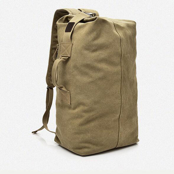 Style 241 Military Style Canvas Duffel Bag :: Available in 3 Colors
