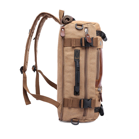 Style 243 Premium Men's Combo Backpack Handled Messnger Bag :: Available in 3 Colors