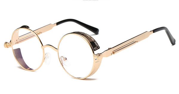 Style 311 Gold Plate Metal Steampunk Eyeglass Frames