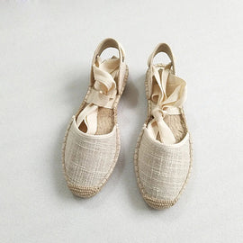 Traditional Open Hemp Espadrilles