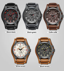Style4411 Curren Mens Luxury Watch  - Available in 5 Colors