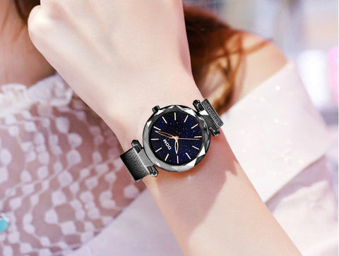 Model 4413 DOM Starry Night Luxury Ladies Fashion Watch