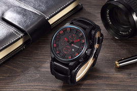 Style2314 Mens Military Style Analog Watch  - Available in 5 Colors
