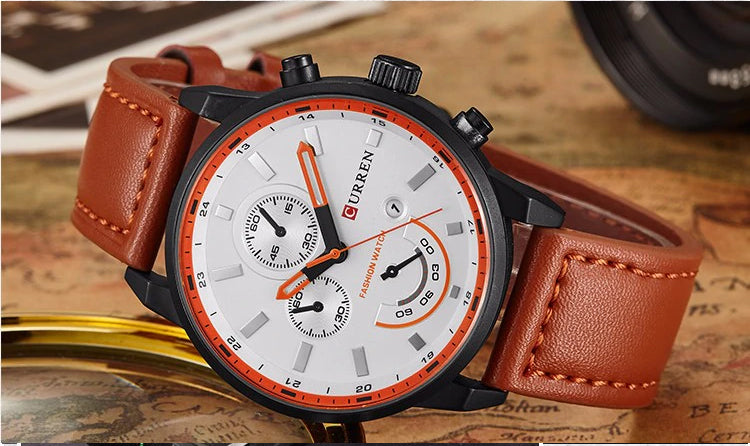 Style 2319 Men's Casual Quartz Sports Watch :: Available in 3 Colors