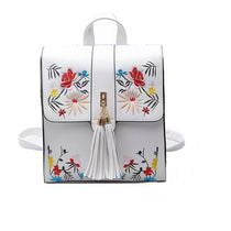 Style 504 Embroidered Floral Backpack in 2 Colors