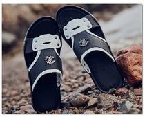 Style 703 Riveting Slip On Beach Sandals :: Available in 2 Colors