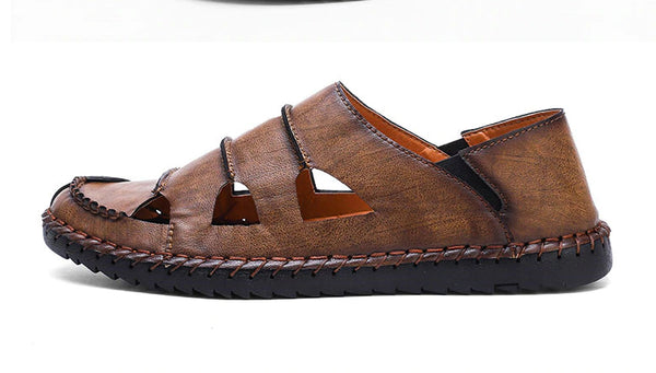Style 713 Men's Casual Leather Slip Ons :: Available in 3 Colors