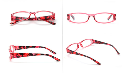 Style 7723 Women's Floral Pattern Designer Reading Glasses    :: Available in 3 Colors