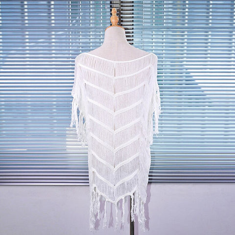 Style 904 Hand Knitted String Cover Up