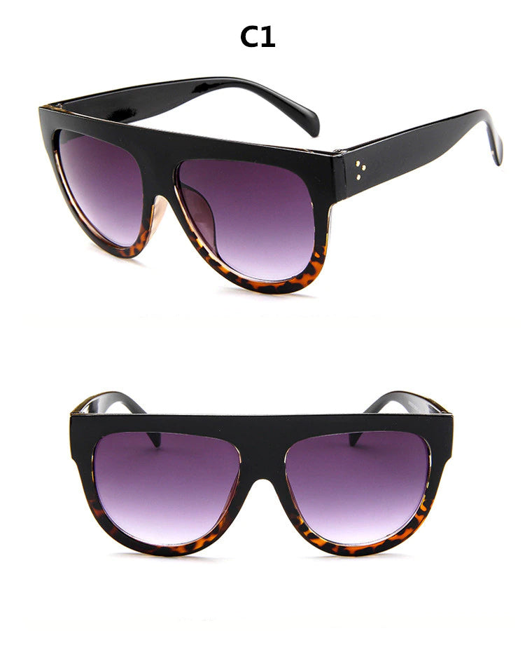 Style 9902 Luxury Over Sized Glamour Designer Sunglasses :: Available in 6 Colors