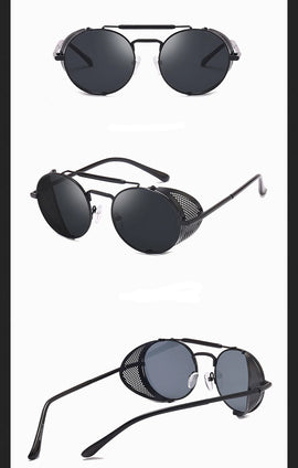 Style 9906 Del Sol Designer Steam Punk Unisex Sunglasses   :: Available in 8 Colors