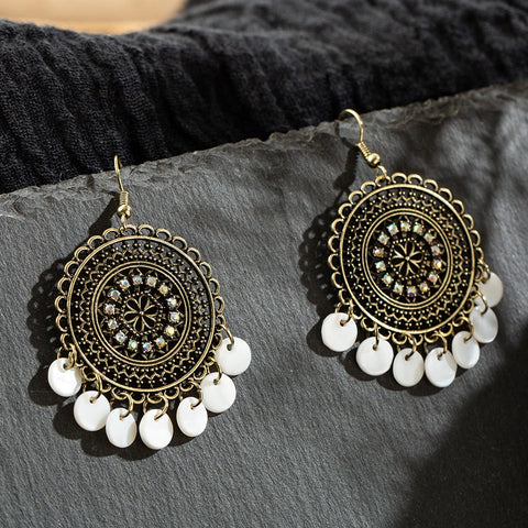La Bohem Collection - Gypsy Circles Earrings