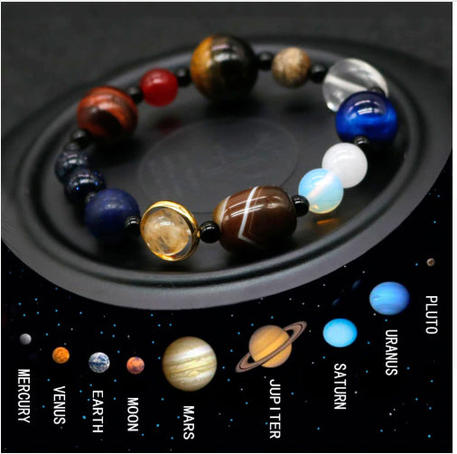 The Universe Natural Stone Men's Bracelet