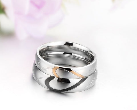 Whole Heart Couples Ring Set