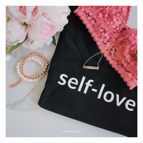 self love tshirt from Shine and Co