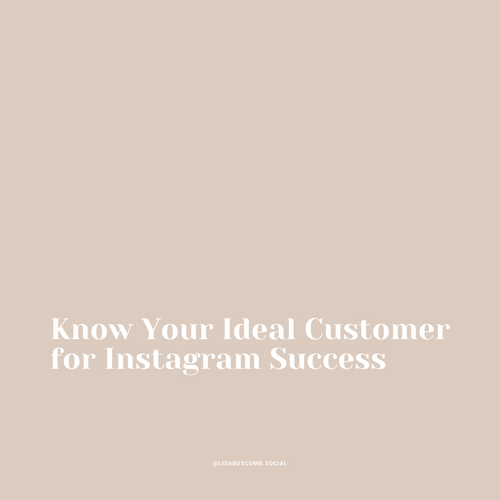 Know Your Ideal Customer for Success
