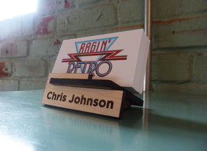 Business Card Holder - Personalized and Adjustable