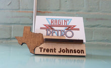 Load image into Gallery viewer, Texas Business Card Holder - Personalized and Adjustable