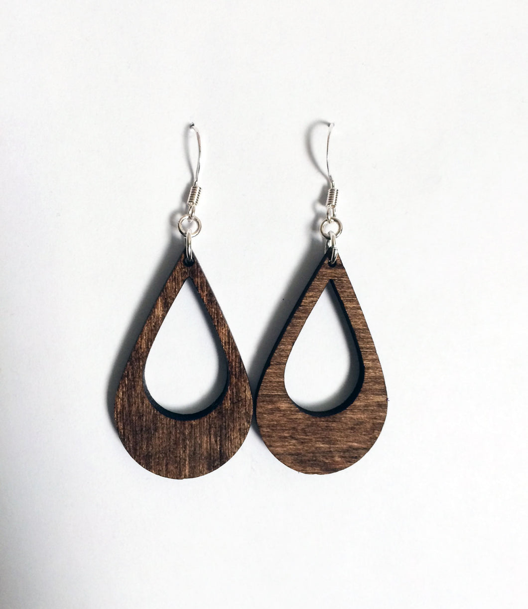 Teardrop Natural Earrings