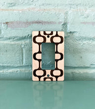 Load image into Gallery viewer, Mid Century Modern Wall Outlet Plug Cover for GFI and Rocker Switches