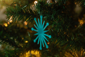 Mid Century Modern Christmas Ornament - Starburst Ornament