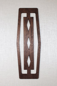 Mid Century Modern Wall Decor Wood Accent