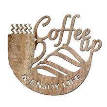 Load image into Gallery viewer, Wood Coffee Sign